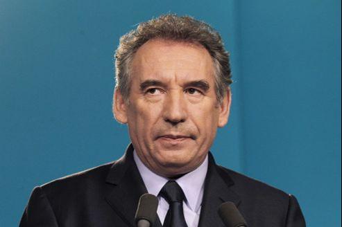 François Bayrou, le 3 mai à Paris.
