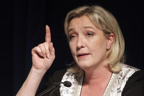 Marine Le Pen le 2 mai à Paris.