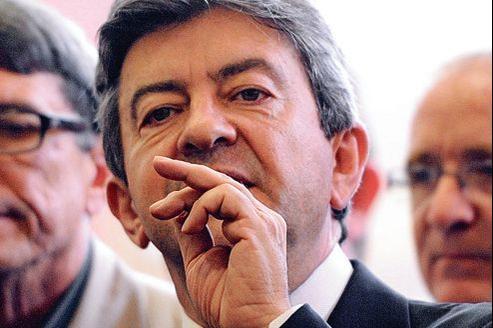Jean-Luc Mélenchon, avec sa candidature «qui se voit de loin» poursuit le combat «Front de gauche contre Front national».