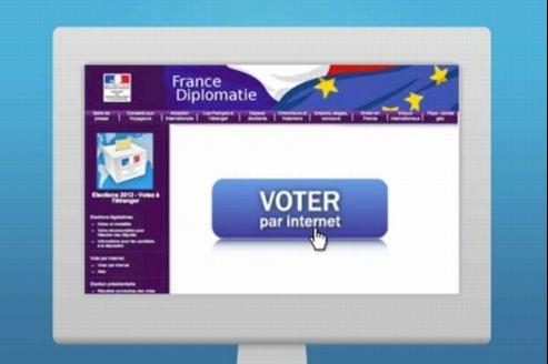 Capture d'écran de la vidéo explicative du vote réalisée par le Quai d'Orsay.