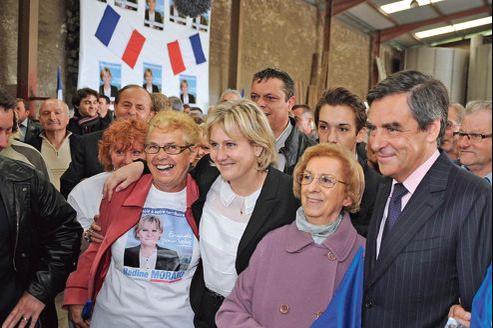 François Fillon est venu soutenir Nadine Morano, mercredi à Ceintrey (Meurthe-et-Moselle) pour le deuxième tour des législatives.