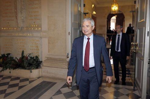 Claude Bartolone s'est dit «très ému de la confiance» qui lui a été accordée par les députés socialistes.