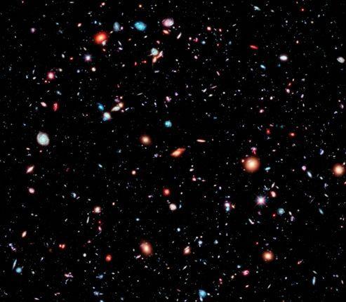 hubble d voile la plus lointaine image de l 39 espace. Black Bedroom Furniture Sets. Home Design Ideas