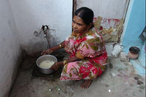 Actuellement, 8 % de la population de Nagpur disposent de l'eau courante.