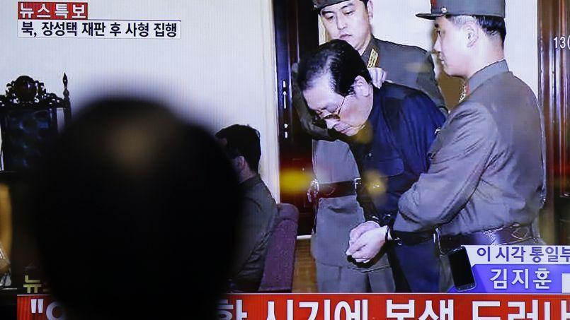 7d1ac32a33f Image de la condamnation à mort de l oncle du numéro un nord-coréen