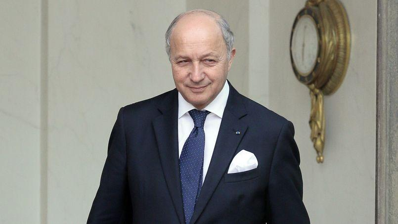 Laurent Fabius, ministre des Affaires étrangères.