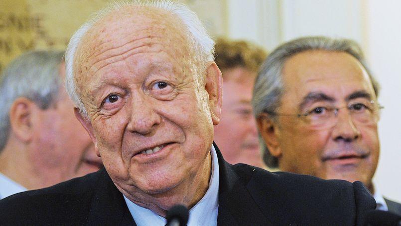 Jean-Claude Gaudin, après la victoire de l'UMP dimanche soir à Marseille.