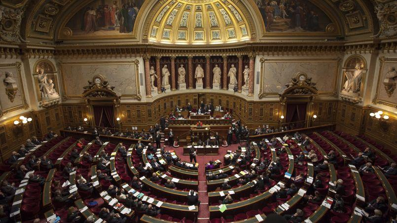 Hémicycle du Sénat en avril 2013.