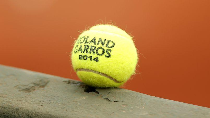 La petite balle jaune utilisée durant toute la quinzaine parisienne.