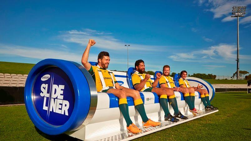 Un «canapé» révolutionnaire pour ... regarder les matchs de rugby sur le bord de la pelouse