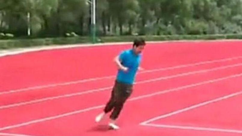 La Chine invente une piste d'athlétisme carrée !