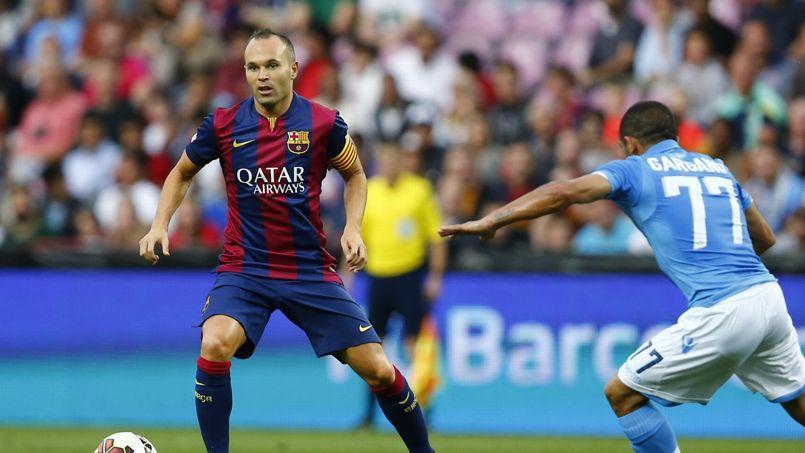 Le FC Barcelone est l'un des clubs équipes par Nike.