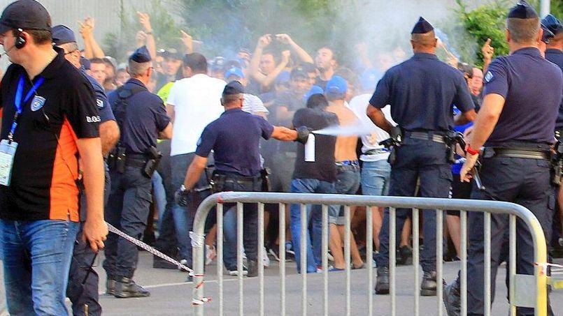 Violences Bastia-OM : de la prison ferme requise