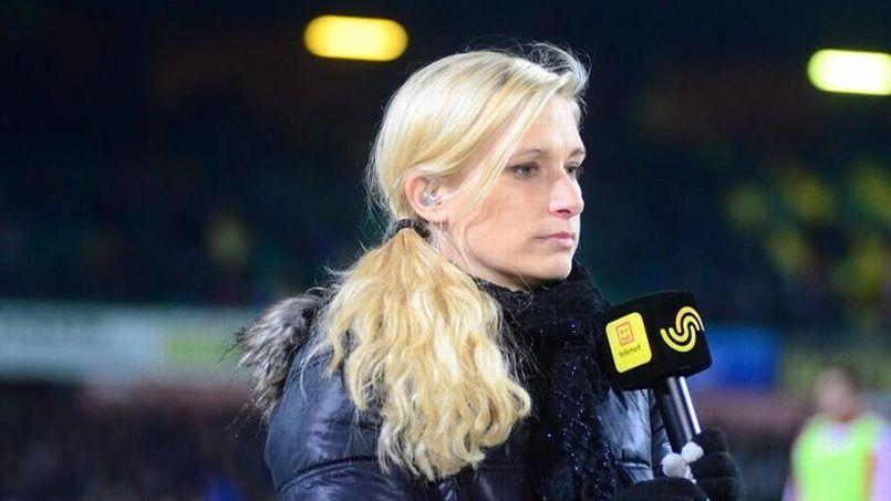 La journaliste Hilde Van Malderen. (Crédit: Twitter)
