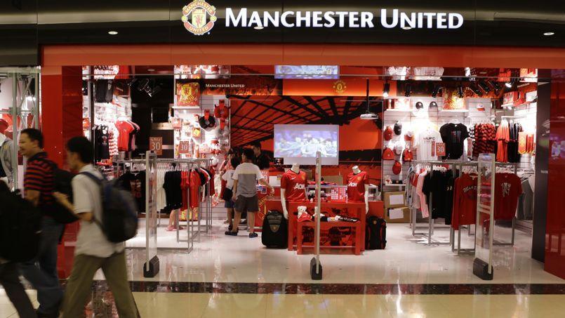L'étrange rupture de stock de la lettre «R» au magasin de Manchester United