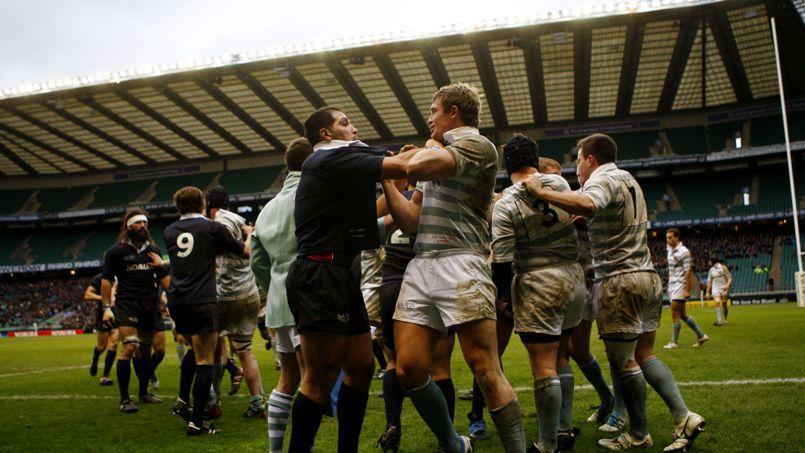 Le Varsity Match de 2011 entre Oxford et Cambridge.