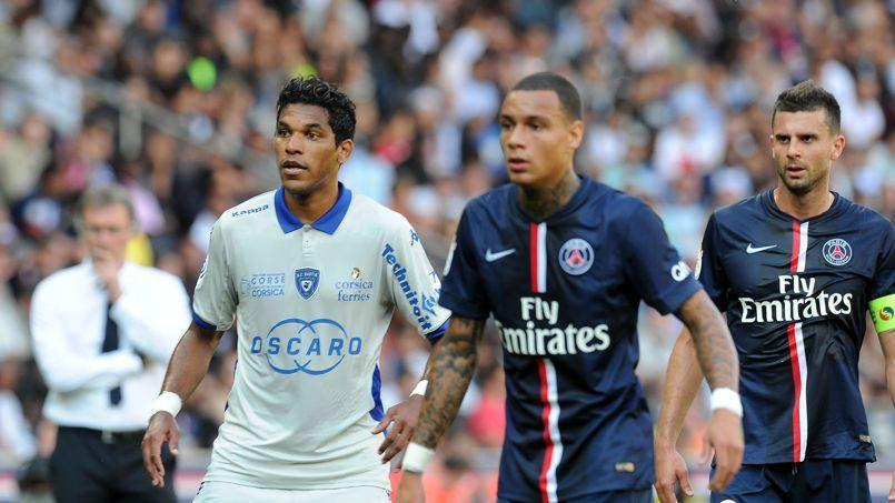 Brandao, lors de PSG-Bastia au mois d'août.