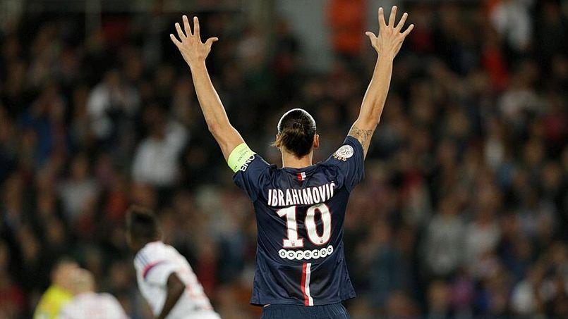 Zlatan Ibrahimovic, joueur le mieux payé de la Ligue 1