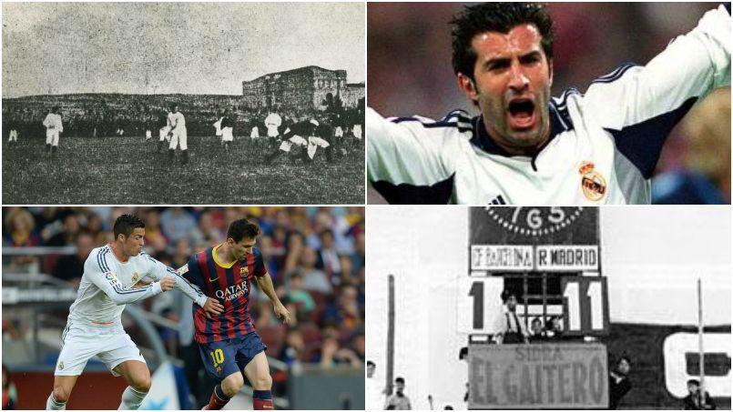 histoire rencontre real madrid fc barcelone
