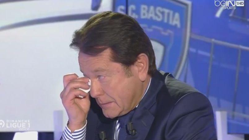 Le président du FC Nantes au bord des larmes à la télévision