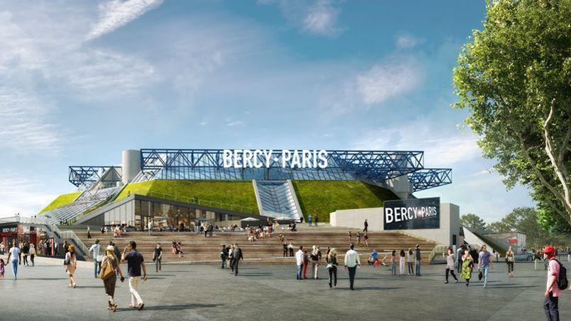 La future Arena Bercy