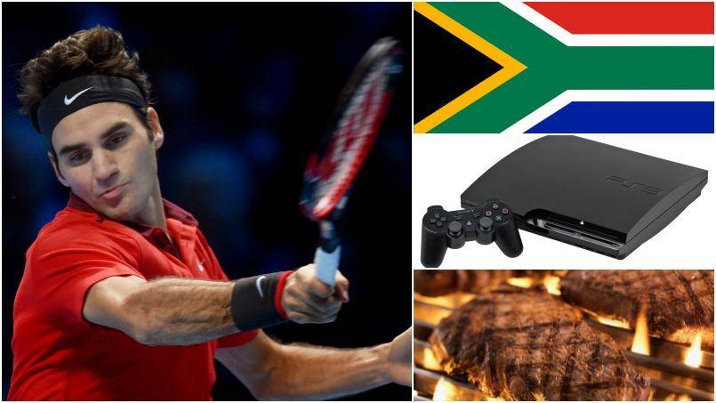 Cinq choses que vous ignoriez sur Roger Federer
