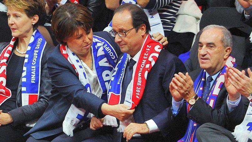 François Hollande supporteur des Bleus à Lille