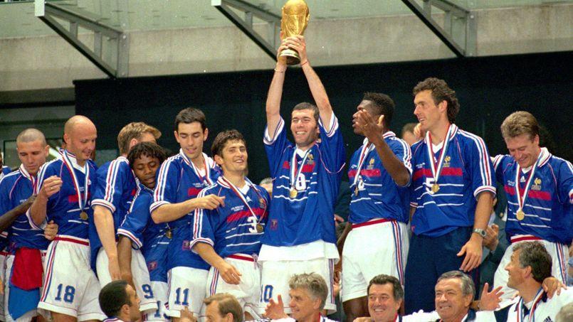 Que sont devenus les bleus de france 98 - Coupe du monde de foot 1998 ...