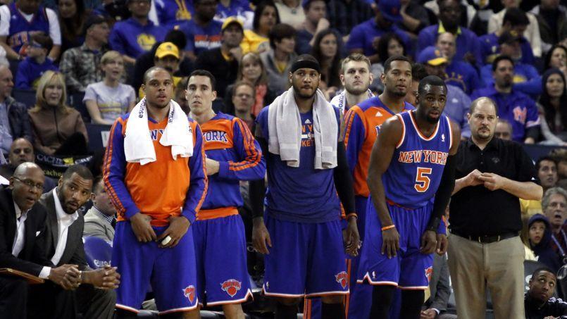 Les Knicks de Carmelo Anthony ont concédé 32 défaites depuis le début de la saison NBA.
