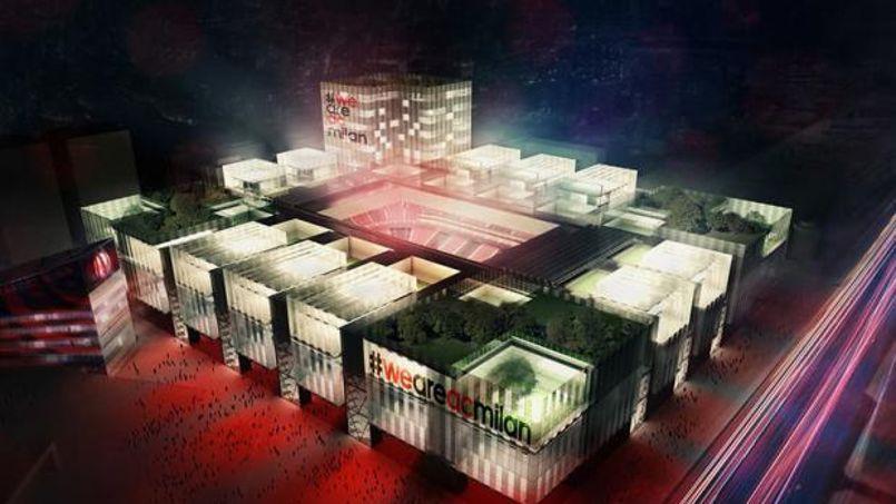 Le nouveau stade du Milan sera deux fois moins grand que San Siro