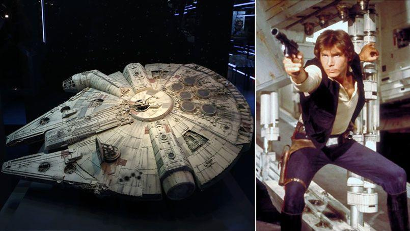 star wars faucon millenium le vaisseau qui valait 4 milliards. Black Bedroom Furniture Sets. Home Design Ideas