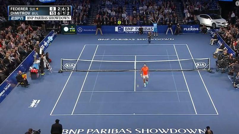 Quand un jeune de 12 ans lobe Roger Federer