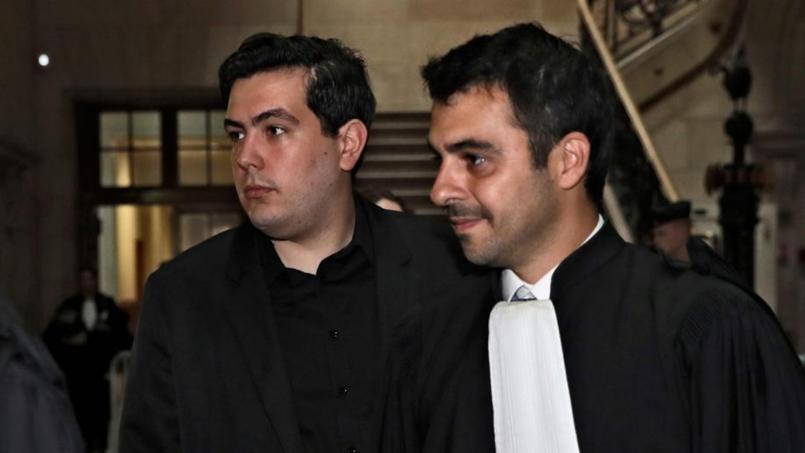 Esteban Morillo avec son avocat Julien Fresnault.