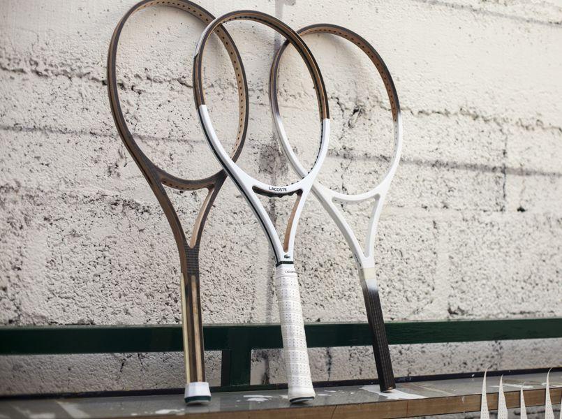 e91b2f78c6 «Jouer et gagner ne suffisent pas, encore faut-il maîtriser son style»,  disait René Lacoste, inventeur en 1961 de la première raquette métallique!