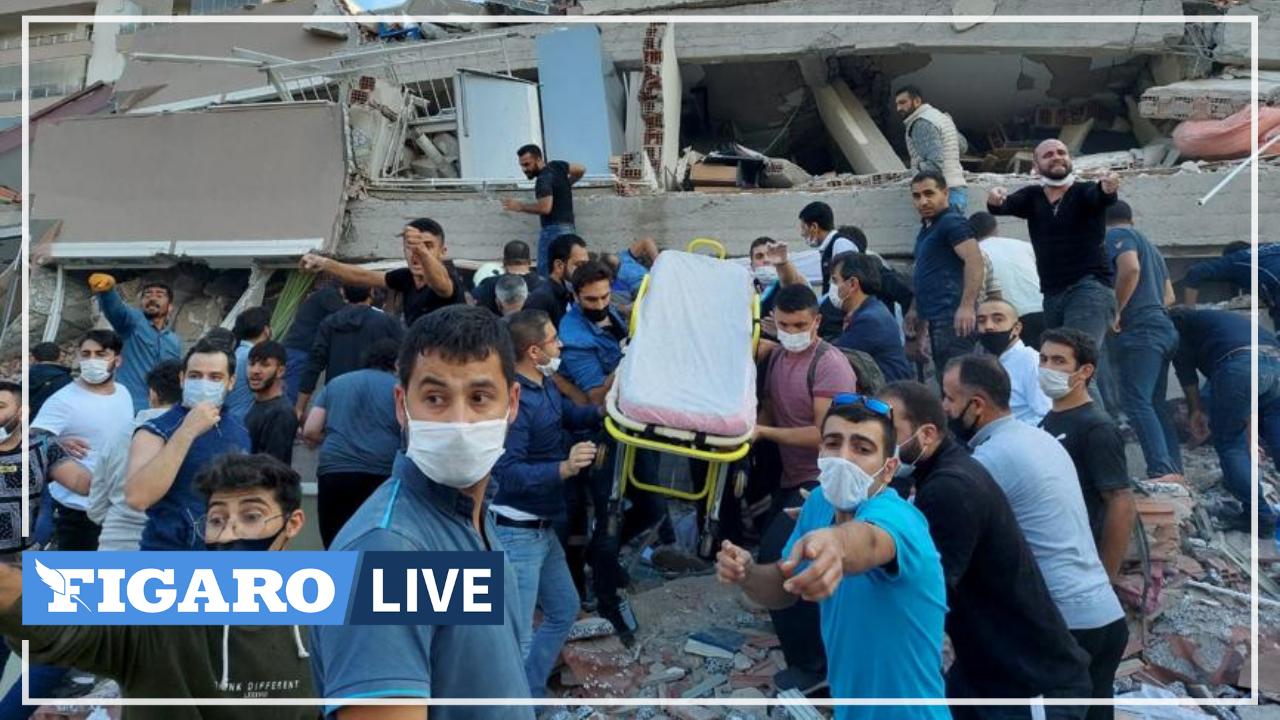Turquie: les secours s'activent pour retrouver des survivants après le séisme en mer Égée