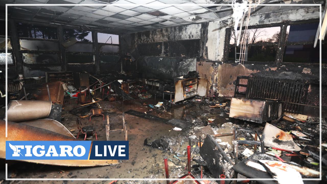Lille: les pompiers visés par des tirs de mortiers alors qu'ils interviennent sur l'incendie d'une école maternelle