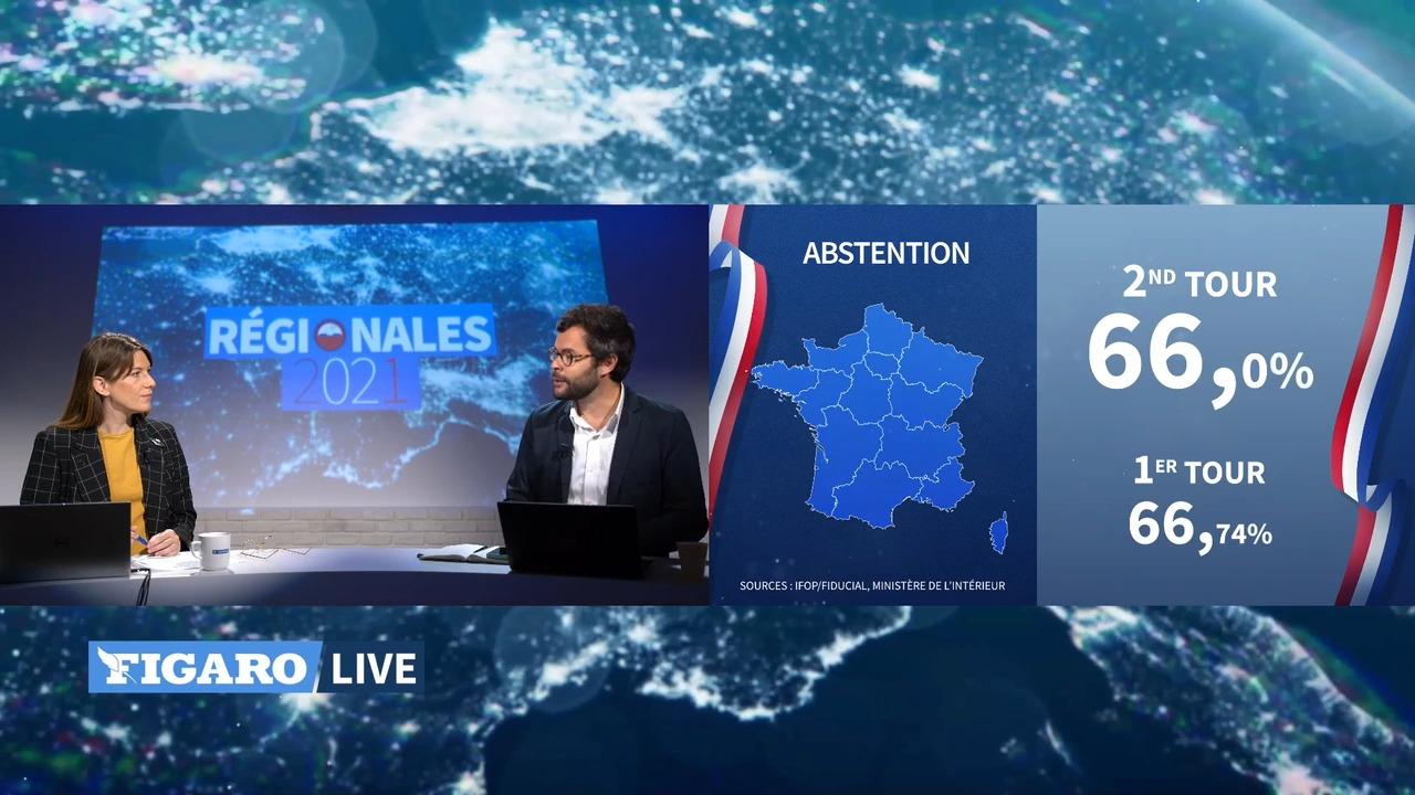 Régionales: les résultats définitifs commentés par le sondeur Eddy Vautrin-Dumaine