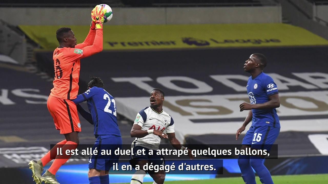 Chelsea - Lampard satisfait par les débuts de Mendy