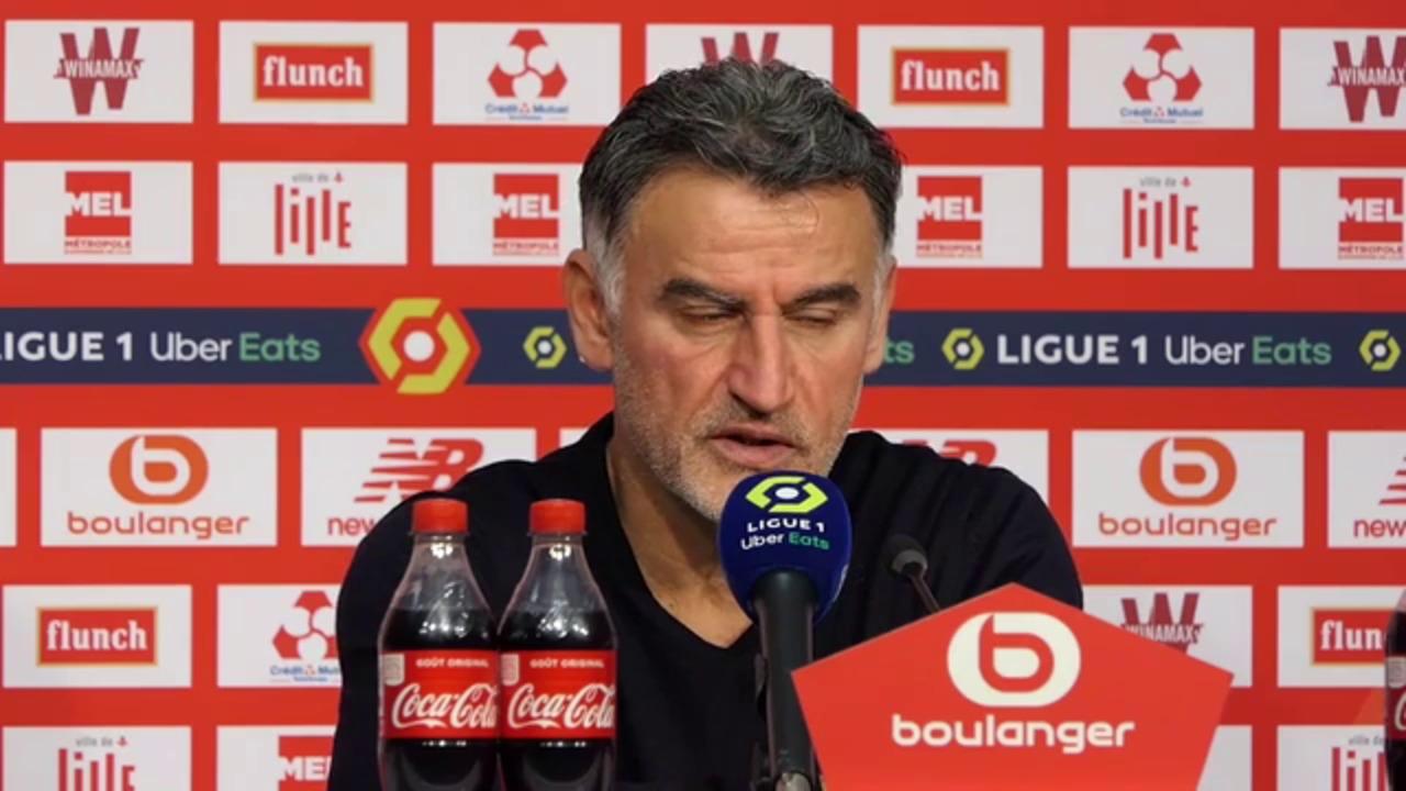 16e j. - Galtier : Si on défend mal contre le PSG, on perd