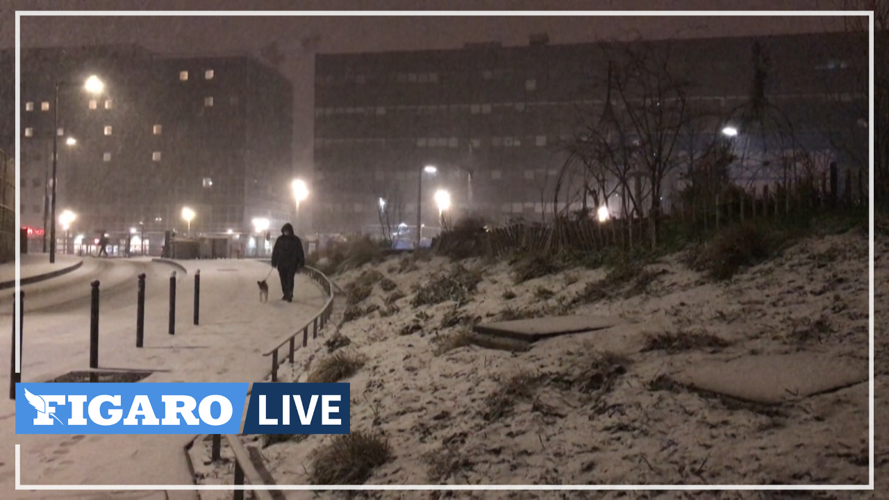 De Rennes à Brest, la neige est tombée sur une large partie de la Bretagne