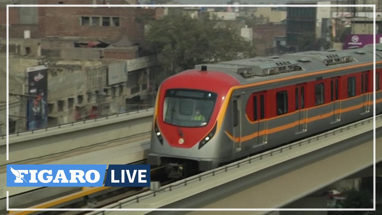 «Ça va faire gagner du temps aux gens»: les Pakistanais saluent l'inauguration du premier métro à Lahore