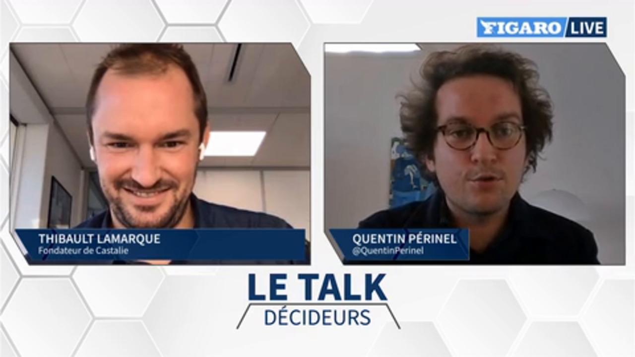Thibault Lamarque: «Il faut mettre fin à la folie des bouteilles en plastique»
