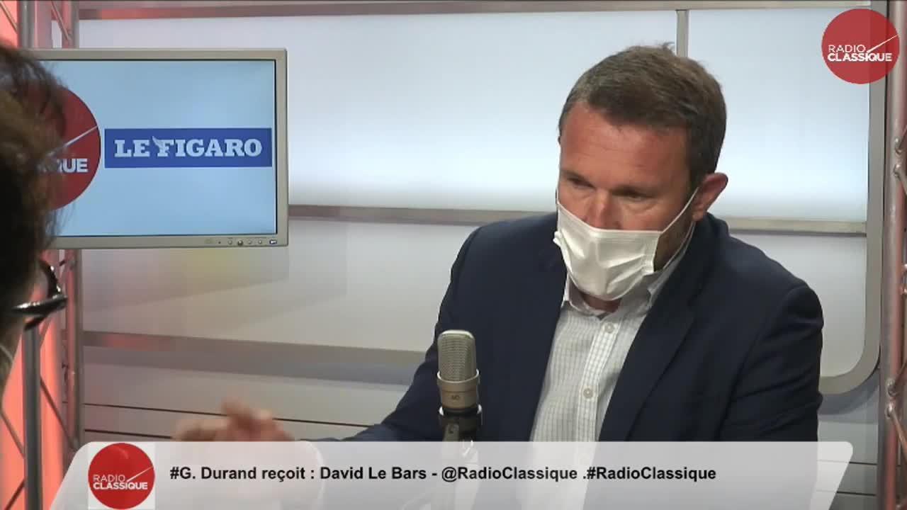 David Le Bars dénonce les «discours extrêmement dangereux» de Jean-Luc Mélenchon «vis-à-vis de la police»