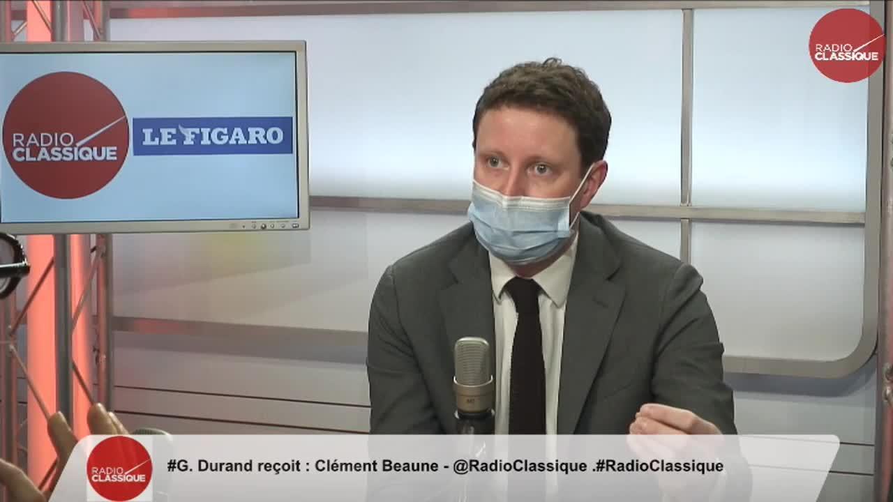 Clément Beaune est l'invité de la matinale Radio Classique-Le Figaro
