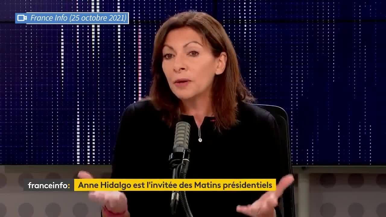 «Merci, Sandrine, mais je ne le ferai pas dans ces conditions-là»: Anne Hidalgo répond à la main tendue de Sandrine Rousseau