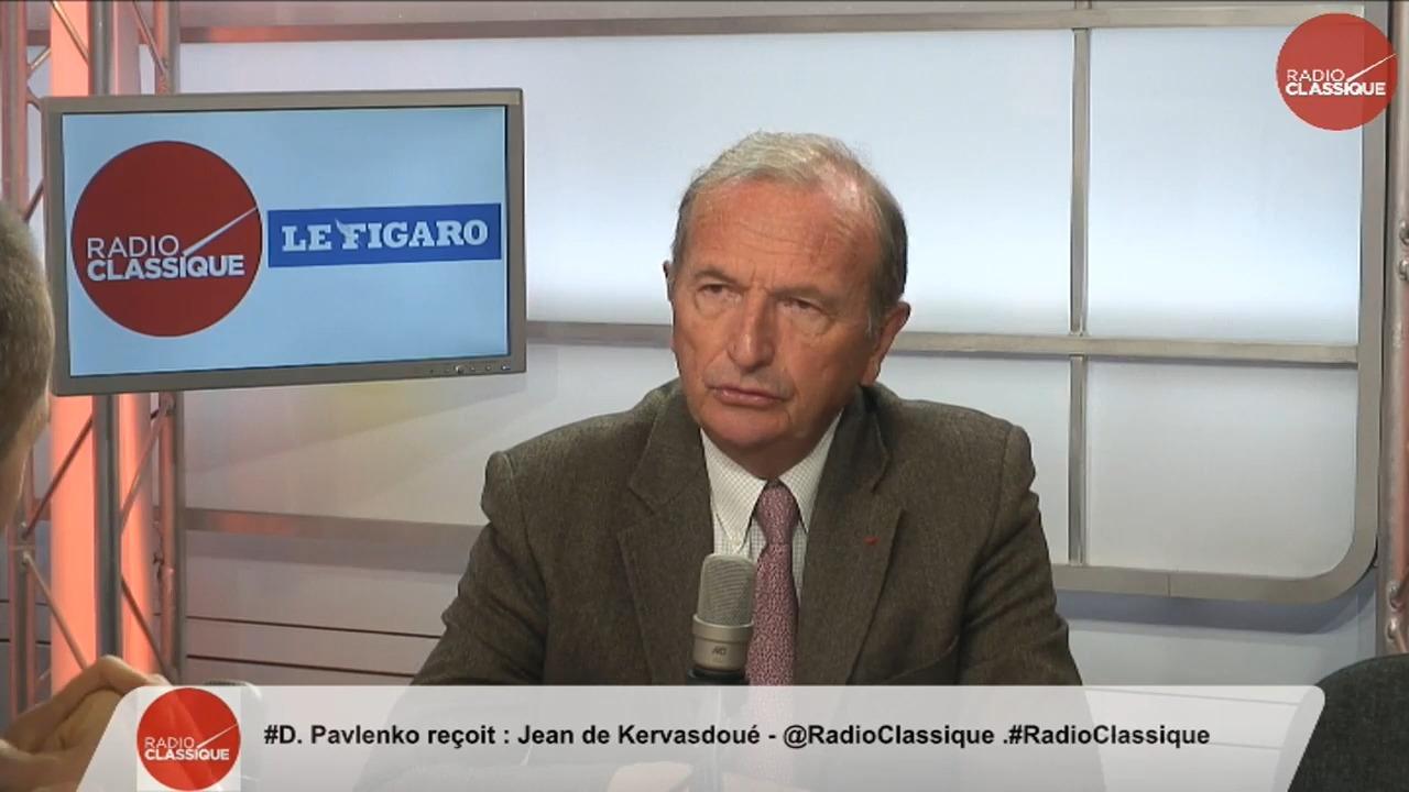 Jean de Kervasdoué était l'invité de la matinale Radio Classique – Le Figaro