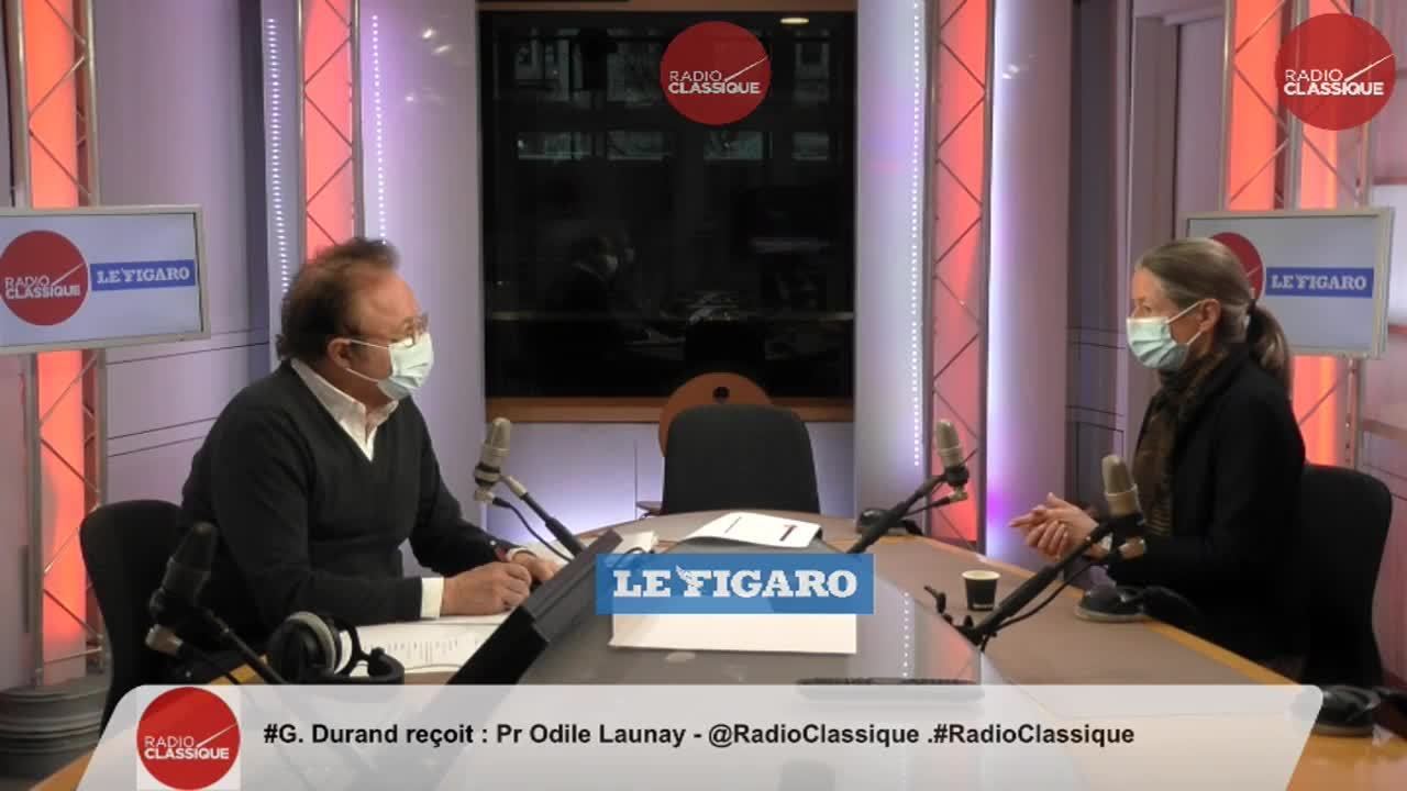 Pr Odile Launay est l'invitée de la matinale Radio Classique-Le Figaro