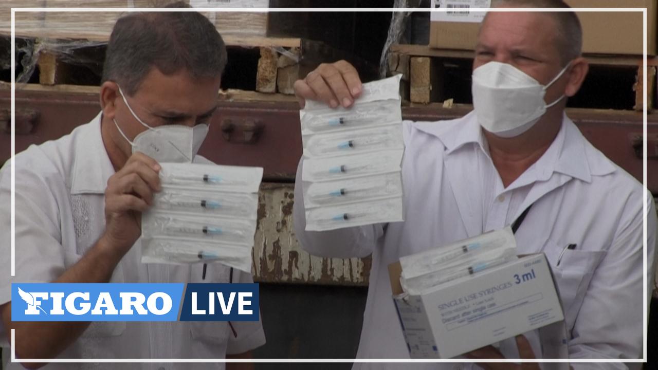 Cuba reçoit plus d'un million de seringues de la part de groupes américains opposés à l'embargo