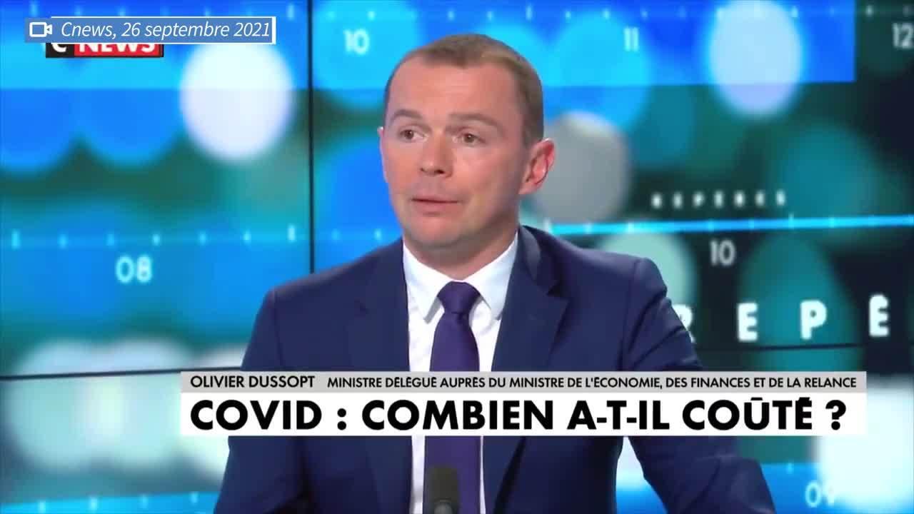 Olivier Dussopt: le Covid-19 a coûté «entre 170 et 200 milliards d'euros» sur ces deux dernières années