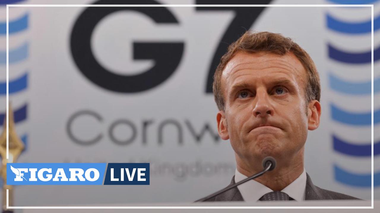 Le G7 «n'est pas un club hostile à la Chine», assure Emmanuel Macron